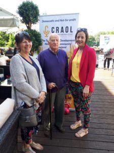 Carmel Cummins (Westmeath Volunteer Centre), Noel Henry (Volunteer Athlone Community Radio) & Michelle Raleigh (Westmeath Volunteer Centre)