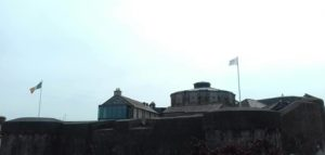Craol Conquers Athlone with the flag waving high over the Athlone Castle!